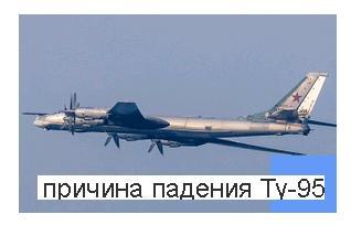 Названа причина аварии ТУ-95, отказ всех двигателей